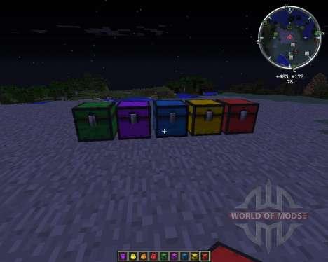 CompactStorage pour Minecraft