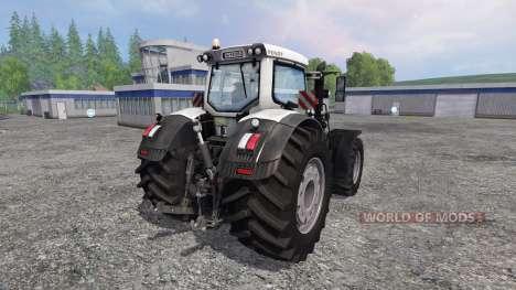 Fendt 933 Vario White Edition pour Farming Simulator 2015