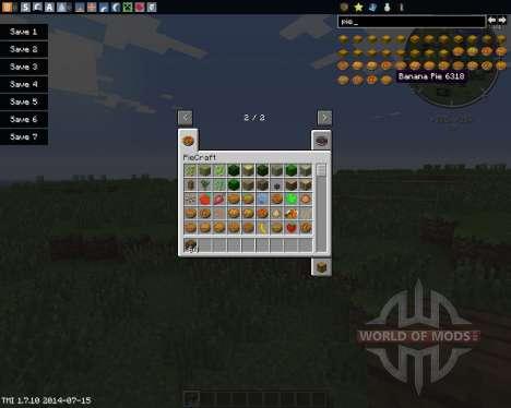 PieCraft für Minecraft
