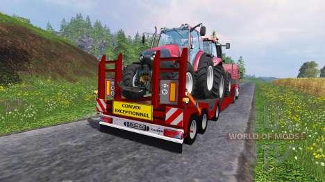 Kaiser Porte Engin Forestier pour Farming Simulator 2015