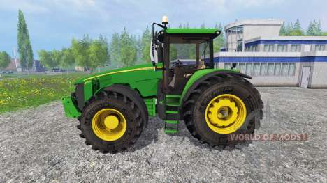 John Deere 8370R v3.0 [Ploughing Spec] für Farming Simulator 2015