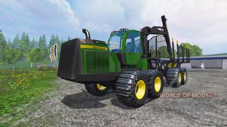 John Deere 1510E pour Farming Simulator 2015