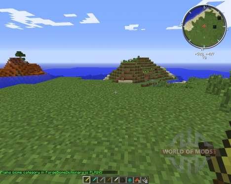 BiomeChecker pour Minecraft