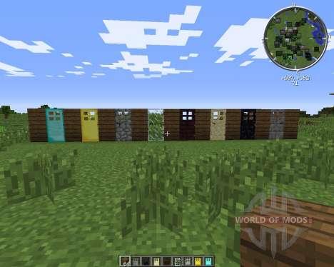 Extra Doors pour Minecraft