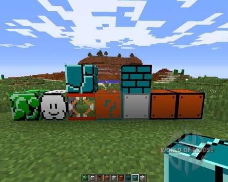 Super Mario pour Minecraft