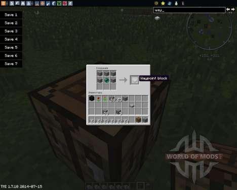 Waypoints für Minecraft