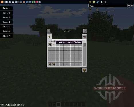 HyperionCraft für Minecraft