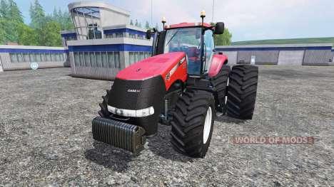 Case IH Magnum CVX 380 dynamic rear twin wheels für Farming Simulator 2015