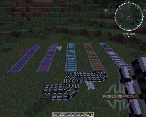 Expanded Rails pour Minecraft