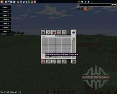 Villagers Nose pour Minecraft