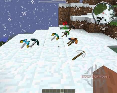 More Pickaxes pour Minecraft