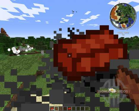 Throwable Bricks für Minecraft