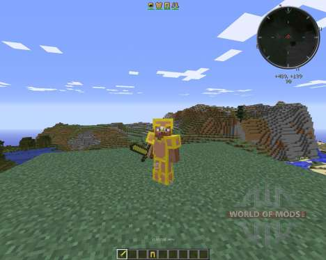 Gilded Armor pour Minecraft