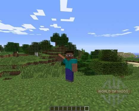 Emotes für Minecraft