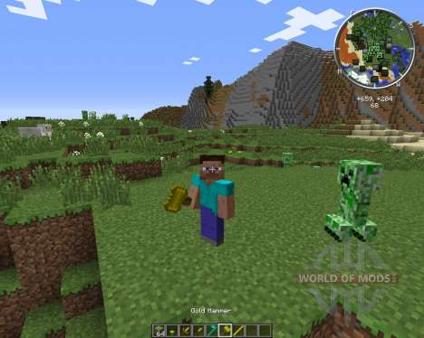 ExWeapons pour Minecraft