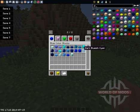 Color Blocks für Minecraft