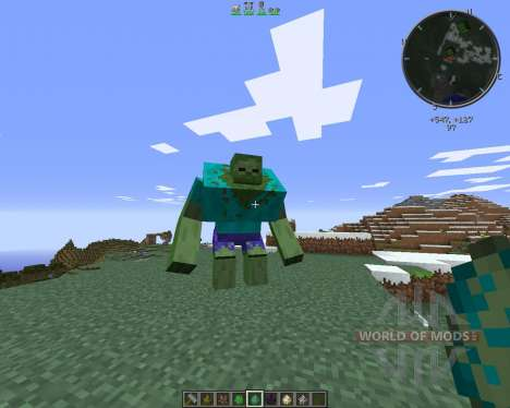 Mutant Creatures für Minecraft