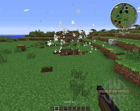 Turtle Gun pour Minecraft