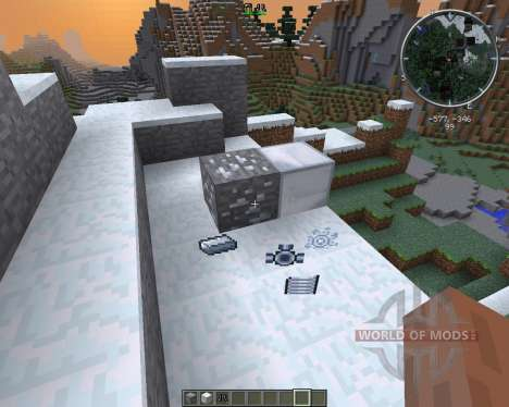 Movement Enhancement Suits and Armor pour Minecraft