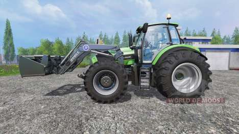 Deutz-Fahr Agrotron 7250 Forest King green für Farming Simulator 2015