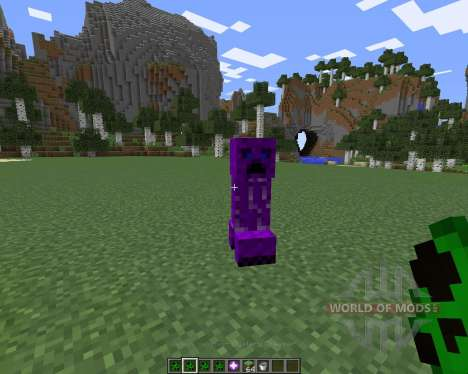 Creeper Species für Minecraft