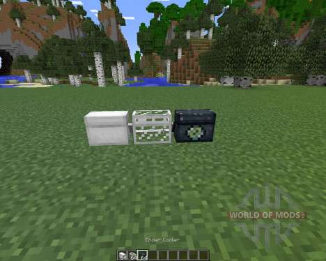 Coolers pour Minecraft