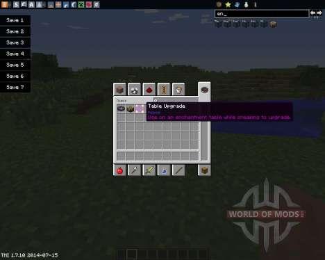 Enchanting Plus für Minecraft