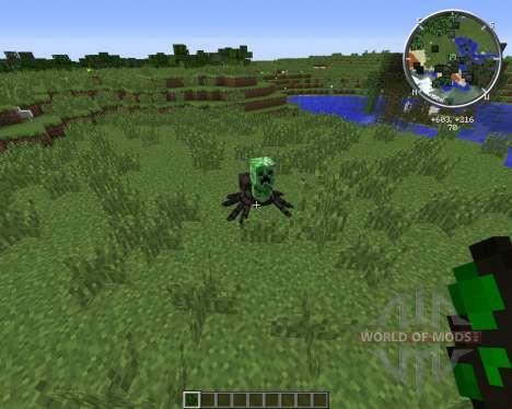Creeper-Spider für Minecraft