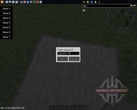 Waypoints pour Minecraft