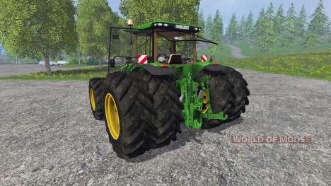 John Deere 8370R v2.0 Ploughing Spec pour Farming Simulator 2015