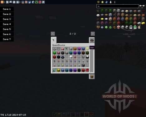 OpenBlocks pour Minecraft