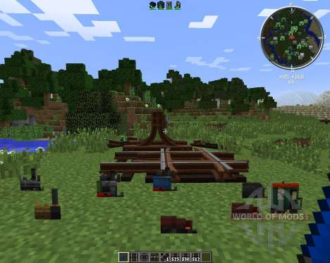 Rails of War Mod für Minecraft