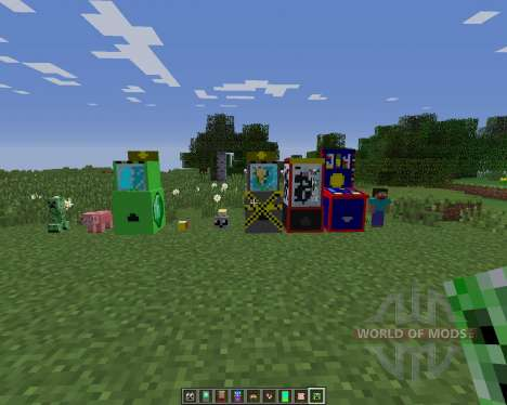 Penny Arcade pour Minecraft