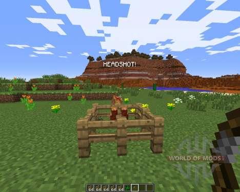 Headshot pour Minecraft