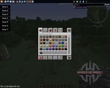 Craftable Bedrock für Minecraft