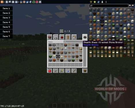 Stealth Blocks für Minecraft