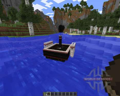 SteamBoat pour Minecraft