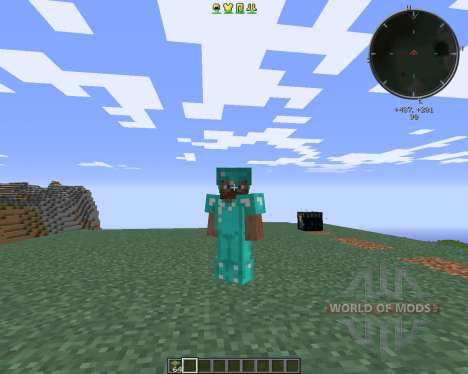 Cosmetic Armor pour Minecraft