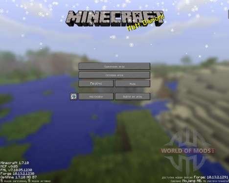 SnowTime pour Minecraft