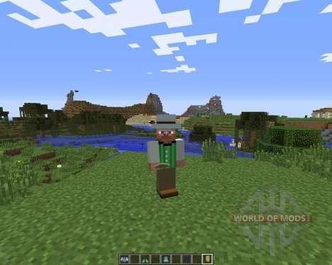 ClothingCraft pour Minecraft