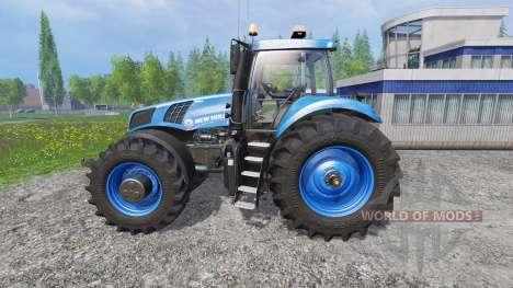 New Holland T8.320 620EVOX blue v1.1 pour Farming Simulator 2015