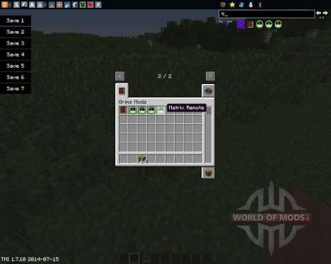 Time Control Remote pour Minecraft