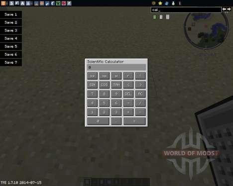 Calculus pour Minecraft