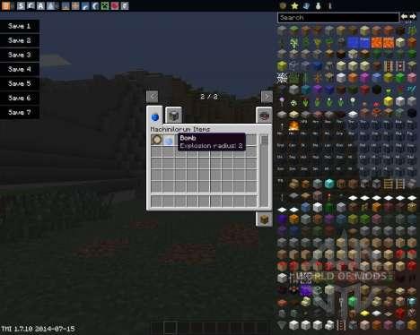 Craftus Machinilorum pour Minecraft