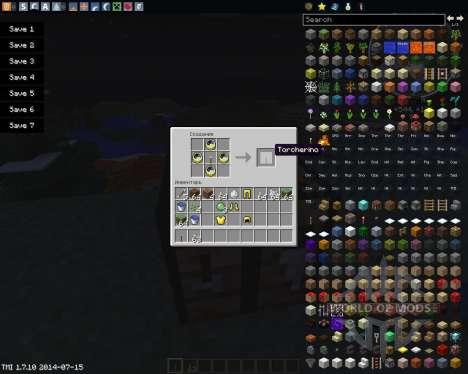 Torcherino für Minecraft