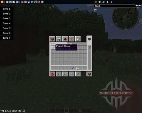 MC Fossil für Minecraft