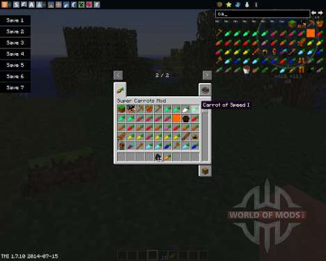 Useful Carrots pour Minecraft