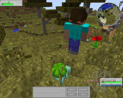 Pixelmon für Minecraft