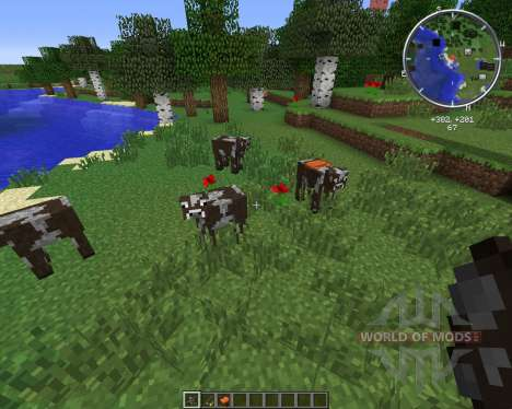 Rideable Cows für Minecraft