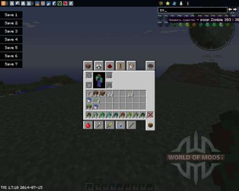 Ore Zombies pour Minecraft